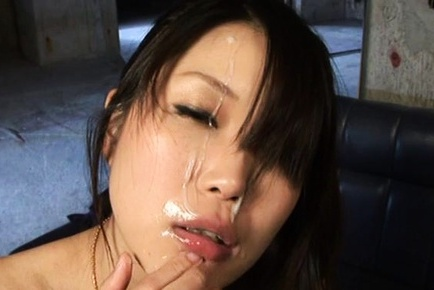 Miura asahi asian in green dress blowjob dong and gets it doggy. Miura Asahi Asian in green dress sucks dong and gets it doggy